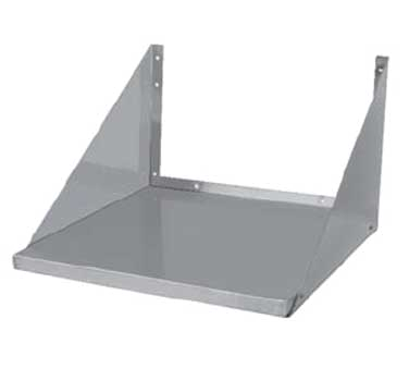 GSW USA MS-2418 Microwave Oven Shelf, wall mount, space saver