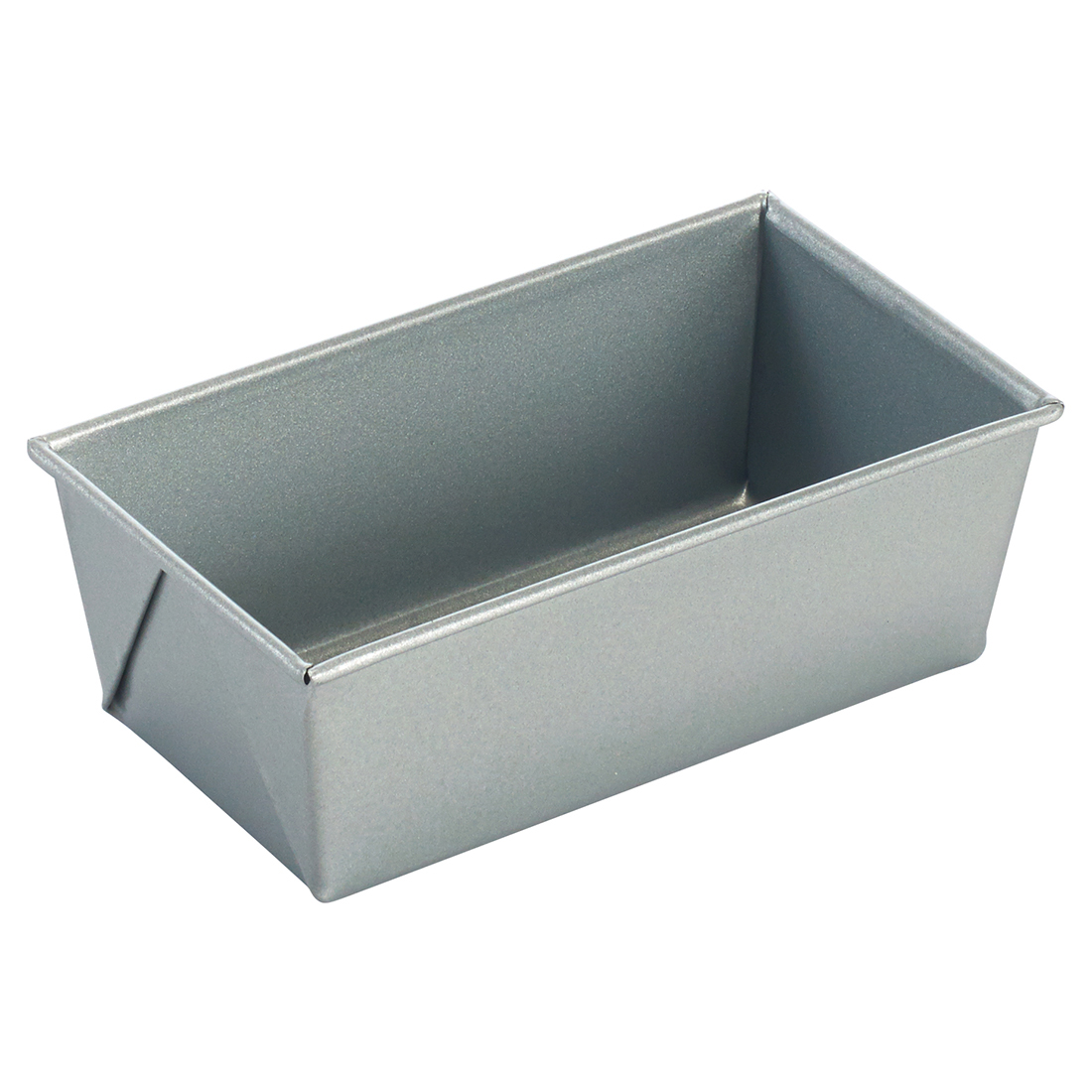 "Winco HLP-53 Loaf Pan, 5-5/8"" x 3-1/8"" x 2-1/4""H, Aluminized Steel"