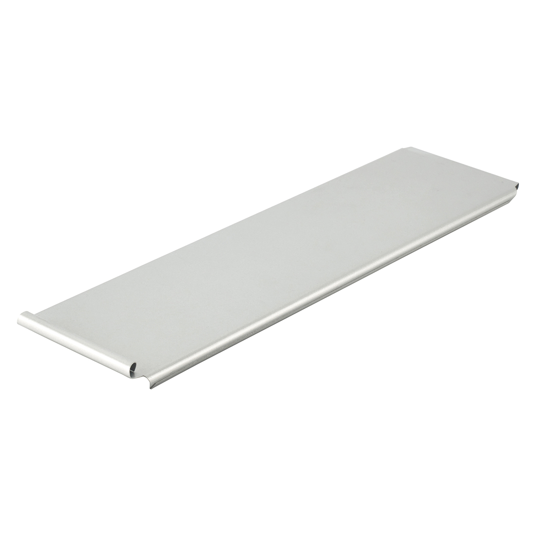"Winco HPP-15L Sliding Cover, 14-1/2"" x 4-1/2"" x 1/2"", Aluminized Steel"