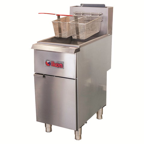 Ikon IGF-35/40-NG Fryer, Natural Gas, 35-40 lb capacity, 90,000 BTU