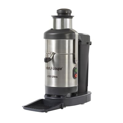 Robot Coupe J100 Centrifugal Juicer/Juice Extractor, table top, 3,450 RPM, 1.3 HP, 120v/60/1-ph
