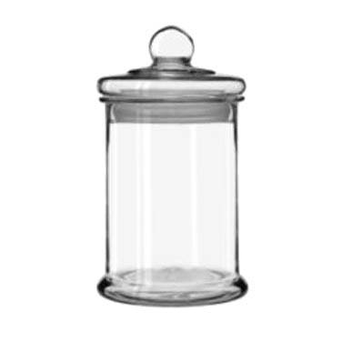 Libbey 55230 Bell Storage Jar, 1-1/4 gallon, with knob lid