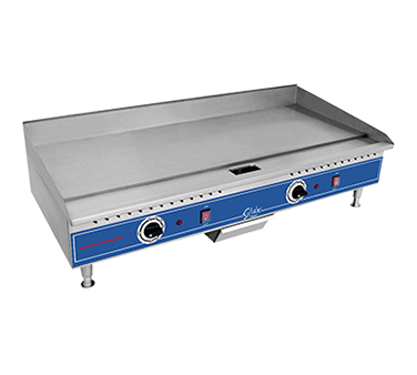 "Globe PG36E Griddle, electric, countertop, 36""W, 208/240v/60/1-ph"