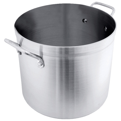 Libertyware POT160, Stock Pot, 160 qt, without Cover, Aluminum, NSF