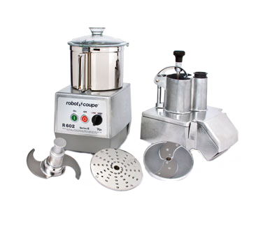 Robot Coupe R602N, 2 Speed, Combination Food Processor, 7 liter stainless steel bowl, 208-240v/60/3-ph