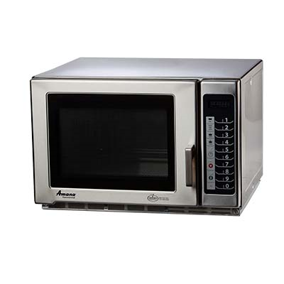 Amana RFS18TS Medium Duty Commercial Microwave Oven w/ Braille Touch Pad, 1800W, 208-240v