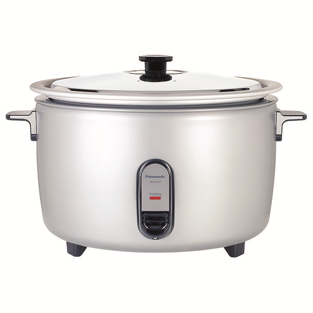 Panasonic SR-GA721L Commercial Rice Cooker, Electric, (80) cups cooked rice capacity, 208v/60/1-ph
