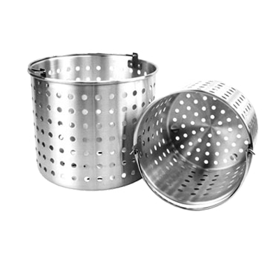 Thunder Group ALSKBK010 Steamer Basket Aluminum Fits 80qt Pot