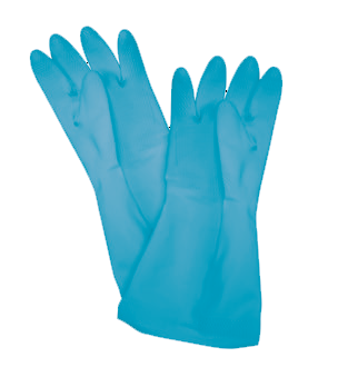 Thunder Group PLGL004BU Latex Gloves
