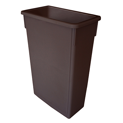 Thunder PLTC023B Slim Trash Can