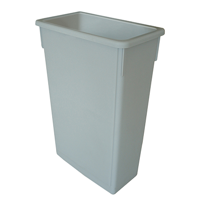 Thunder Group PLTC023G Slim Trash Can