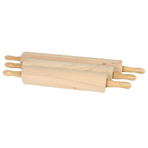 "Thunder Group WDRNP013 Rolling Pin, 13"" Wood"