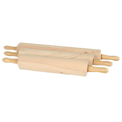 "Thunder Group WDRNP015 Rolling Pin, 15"" Wood"