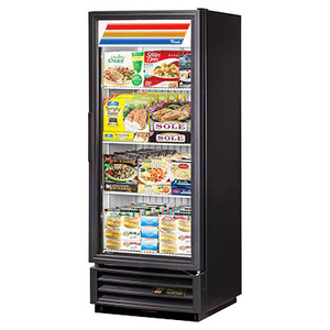 True GDM-12F-HC~TSL01 Freezer Merchandiser, One-Section with Glass Door