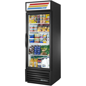One-Section Refrigerated Merchandiser, with Glass Door