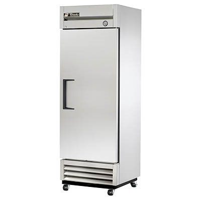 True T-19-HC Refrigerator, Reach-In, One-Section with Stainless Steel Door