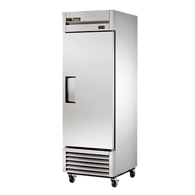 True T-23-HC Refrigerator, Reach-in, One-Section, Solid Stainless Steel Door