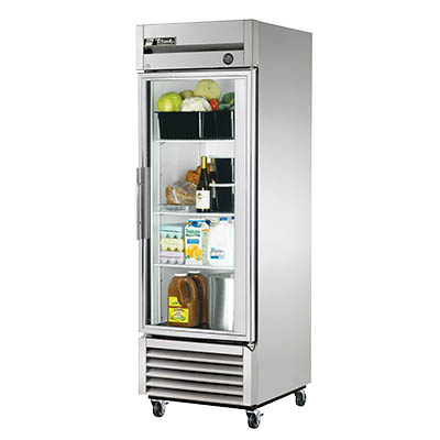 True T-23G-HC~FGD01 Refrigerator, Reach-in, One-Section
