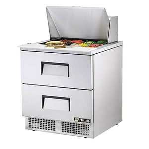 True TFP-32-12M-D-2 Sandwich/Salad Unit, One-Section, Self-Contained