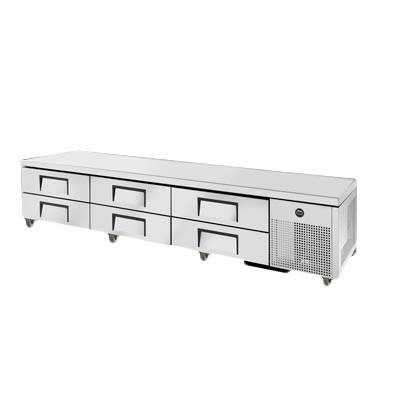 "True TRCB-110 Refrigerated Chef Base, 110""L"