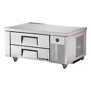 "True TRCB-48 Refrigerated Chef Base, One Section, 48-3/8""L, 1/5 HP, 115v/60/1-ph"