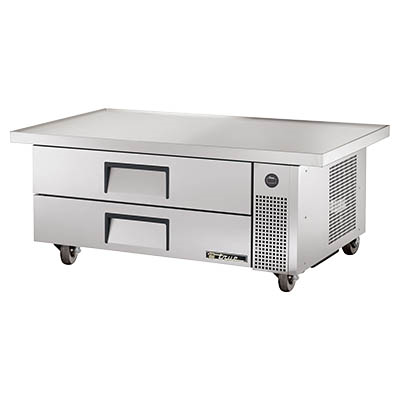"True TRCB-52-60 Refrigerated Chef Base, 51-7/8""L"