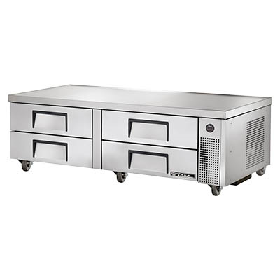 "True TRCB-72 Refrigerated Chef Base, 72-3/8""L"