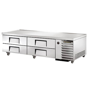 "True TRCB-79 Refrigerated Chef Base, 79-1/4""L"