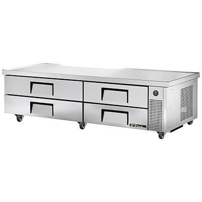 "True TRCB-82-84 Refrigerated Chef Base, 82-3/8""L"