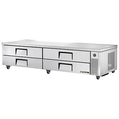 Refrigerated Chef Base, Two Section, Four Drawer, 115v/60/1-ph