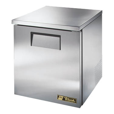 True TUC-27F-LP-HC Low Profile Undercounter Freezer, -10° F, One Section