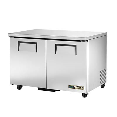 True TUC-48-HC Undercounter Refrigerator, 33-38° F, Two Section