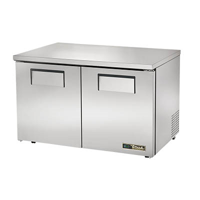 Two Section Low Profile Undercounter Refrigerator, 33-38° F