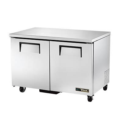 True TUC-48F-HC Undercounter Freezer, -10° F, Two Section