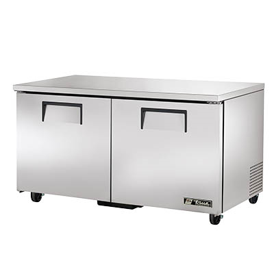 True TUC-60F-HC Undercounter Freezer, -10° F, Two Section