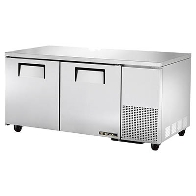 True TUC-67 Deep Undercounter Refrigerator, 33-38° F, Two Section