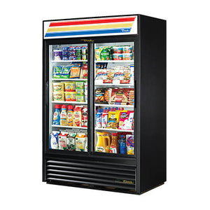 Refrigerated Merchandiser, Two-Section with Sliding Glass Doors