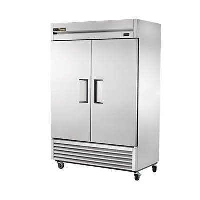 True T-49F-HC Freezer, Reach-in, -10° F, Two-Section, with Solid Stainless Steel Doors