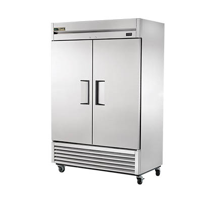 True T-49-HC Refrigerator, Reach-in, Two-Section, Stainless Steel Doors