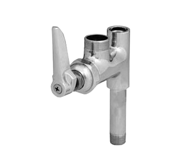 T&S Brass B-0155-LNM Add-on Faucet, less nozzle, for Pre-Rinse Units
