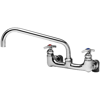 T&S Brass B-0290  Kettle & Pot Sink Mixing Faucet, Wall Mount
