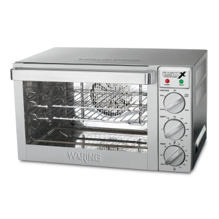 Waring WCO250X Quarter Size Commercial Convection Oven, 150° - 500°F