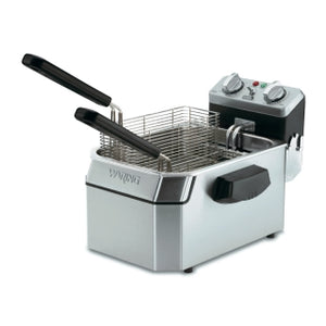 Waring WDF1550 Countertop Deep Fryer 15lb. Capacity, 240v/60/1-ph
