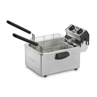 Waring WDF75RC Countertop Deep Fryer 8.5lb. Capacity