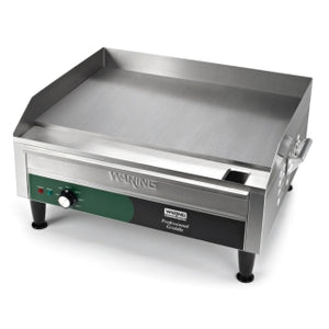 "Waring WGR240X Electric Countertop Griddle 24"" x 16"", 240V"