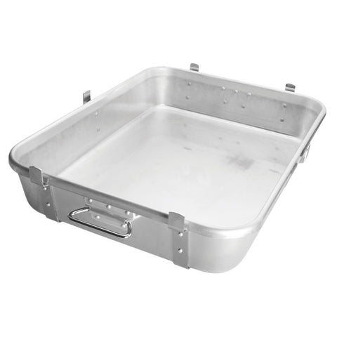 "Winco ALRP-1824L Double Roast Pan 18"" x 24"" x 4-1/2"" Deep"