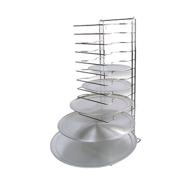 "Winco APZT-1015 Pizza Rack 15-tier 12"" x 12"" x 27""H"
