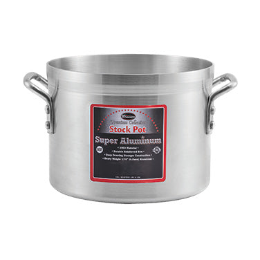 Winco AXS-10 Aluminum Stock Pot 10qt