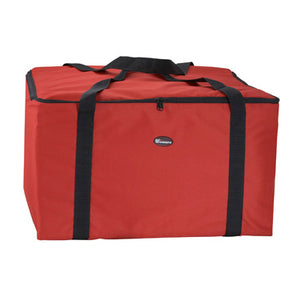 "Winco BGDV-22 Insulated Food Delivery Bag, 22"" x 22"" x 12"""