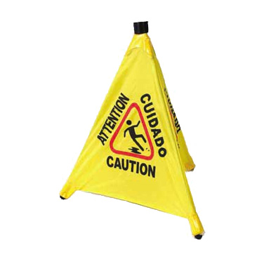 Winco CSF-4 Caution Sign